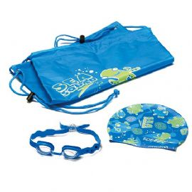 Speedo Sea Squad Pool Pack | Bag Goggles and Swim Cap